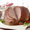 Chipotle-Glazed Ham with Cherry-Jícama Salsa